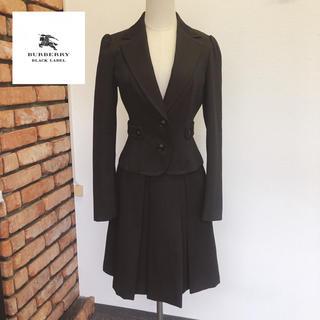 良品 バーバリー ブラックレーベル スカート スーツ