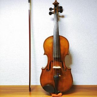 【黄金虎杢】東京ヴァイオリン No.816 TSUNODA 1/4 バイオリン(ヴァイオリン)