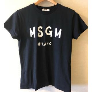 エムエスジイエム(MSGM)の美品 MSGM  キッズ Tシャツ 12サイズ ブラック(Tシャツ(半袖/袖なし))