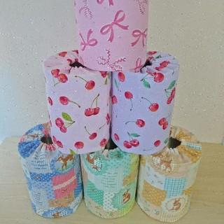 【Cherry Blossom様専用】ミルク缶カバー(知育玩具)