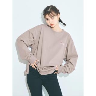 グレイル(GRL)のGRL FILA ビッグロンT(Tシャツ(長袖/七分))