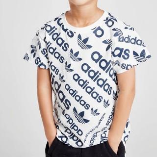 アディダス(adidas)のアディダス 総柄Tシャツ 130 新品未使用(Tシャツ/カットソー)