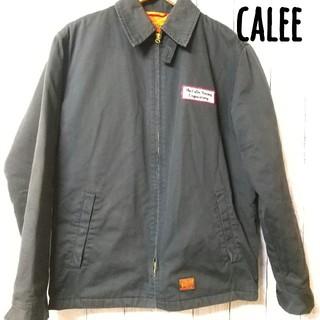 キャリー(CALEE)のキャリー calee ワークジャケット ブルゾン デッキジャケット(ブルゾン)