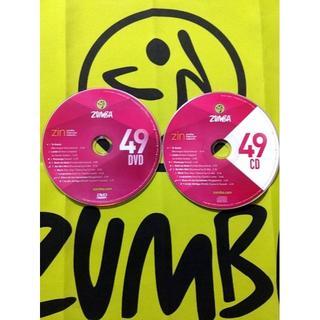 ズンバ(Zumba)のZUMBA ズンバ ZIN49 CD & DVD インストラクター専用(スポーツ/フィットネス)