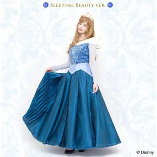 シークレットハニー(Secret Honey)のシークレットハニー ディズニー ブルーオーロラ姫 仮装 ドレス 衣装 コス(衣装一式)