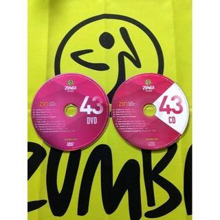 ズンバ(Zumba)のZUMBA ズンバ ZIN43 CD&DVD インストラクター専用 希少(スポーツ/フィットネス)