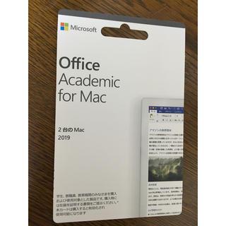 Microsoft office for Macのプロダクトキー(1台分)