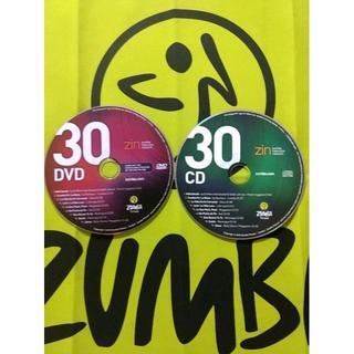 ズンバ(Zumba)のZUMBA ズンバ ZIN30 CD & DVD インストラクター専用(スポーツ/フィットネス)