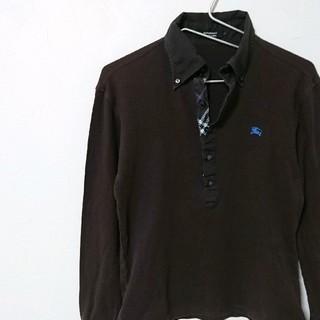 バーバリーブラックレーベル(BURBERRY BLACK LABEL)のBURBERRY BLACK LABEL バーバリーブラックレーベル 長袖(ポロシャツ)