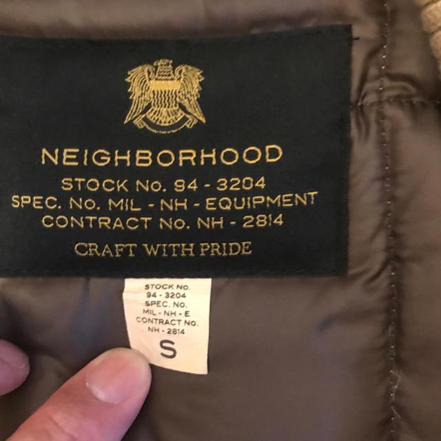 NEIGHBORHOOD(ネイバーフッド)のNEIGHBORHOOD ネイバーフッド ベスト ダウンベスト メンズのトップス(ベスト)の商品写真