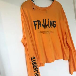 エイチアンドエム(H&M)のジャスティンビーバー コラボTシャツ(Tシャツ(長袖/七分))