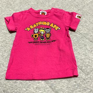 アベイシングエイプ(A BATHING APE)のベイプキッズ BAPE KIDS(Tシャツ)
