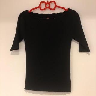 プロポーションボディドレッシング(PROPORTION BODY DRESSING)のプロポ   カットソー2 ブラック(カットソー(半袖/袖なし))
