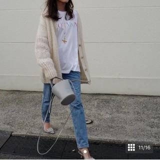 ドゥロワー(Drawer)のayako Gypsohila Tシャツ mite cen yori オブ(Tシャツ(半袖/袖なし))
