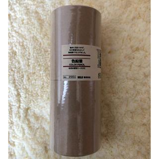 ムジルシリョウヒン(MUJI (無印良品))の無印 色鉛筆 60色・紙管ケース入り(色鉛筆)