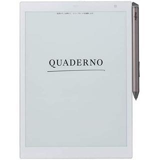 フジツウ(富士通)の電子ペーパー (A5サイズ) クアデルノ QUADERNO FMW‐DPP04(電子ブックリーダー)