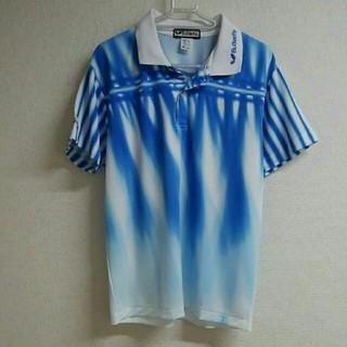 バタフライ(BUTTERFLY)のbutterflyバタフライ ポロシャツ 卓球プラシャツ メンズM レディースL(卓球)