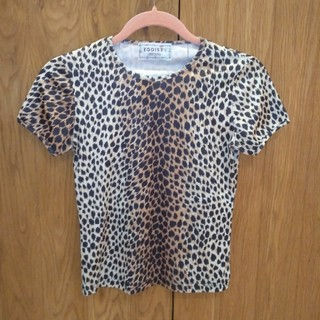 エゴイスト(EGOIST)のレオパード柄 Tシャツ(カットソー(半袖/袖なし))