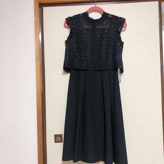 Lily Brown - ブラック2wayドレス