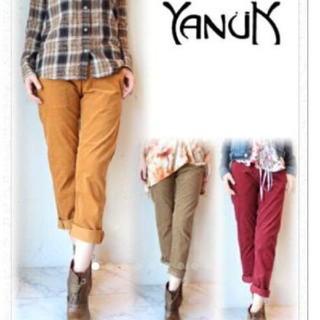 ヤヌーク(YANUK)のYANUK☆コーデュロイスキニーパンツ(スキニーパンツ)