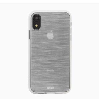 BONDIR Mist Silver iPhone XR(iPhoneケース)