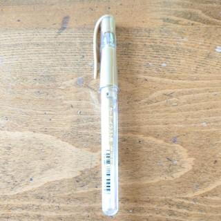 ミツビシエンピツ(三菱鉛筆)のユニボールシグノ/ゴールド1本(ペン/マーカー)