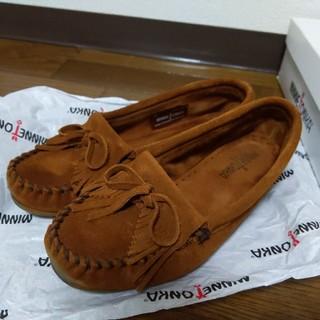 ミネトンカ(Minnetonka)のMINNETONKA(ローファー/革靴)