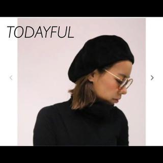 トゥデイフル(TODAYFUL)のTODAYFUL トゥデイフル コーデュロイ ベレー帽(ハンチング/ベレー帽)