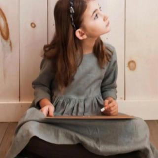 キャラメルベビー&チャイルド(Caramel baby&child )の新品 soor  ploom リネンワンピース 18/24M(ワンピース)