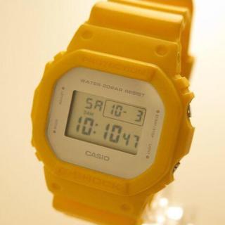 ジーショック(G-SHOCK)のレアカラー CASIO G-Shock DW-5600CU ミリタリーイエロー(腕時計(デジタル))
