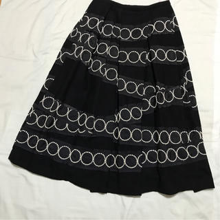 ミナペルホネン(mina perhonen)の【美品】ミナペルホネン  スカート(ひざ丈スカート)