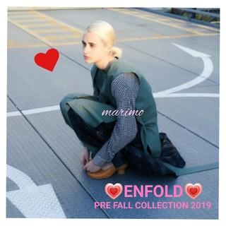 エンフォルド(ENFOLD)の《♥ENFOLD♥》♡PRE FALL COLLECTION 2019♡コート(トレンチコート)