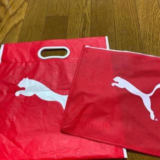 プーマ(PUMA)のショップ袋、ジッパー袋(ショップ袋)