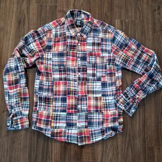 グラニフ(Design Tshirts Store graniph)のグラニフ チェックシャツ Sサイズ USED(シャツ)