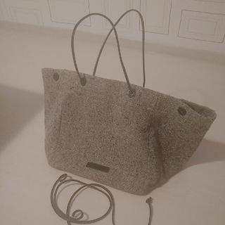 ドリスヴァンノッテン(DRIES VAN NOTEN)のドリスヴァンノッテン 鞄バッグ  ツイード トートバッグ 大容量  (トートバッグ)