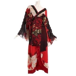 デイジーストア(dazzy store)の【Ryuyu 花魁ドレス+かんざし】(ロングドレス)