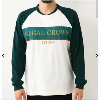 ロデオクラウンズワイドボウル(RODEO CROWNS WIDE BOWL)のRODEO CROWNS RERAGL ラグランロングスリーブTシャツ (Tシャツ/カットソー(七分/長袖))