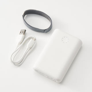 ムジルシリョウヒン(MUJI (無印良品))の【新品】無印良品 USB用モバイルバッテリー(バッテリー/充電器)