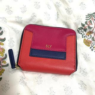スライ(SLY)のSLY ミニウォレット(財布)