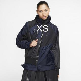 サカイ(sacai)の新品 本物Nike Sacai Hooded Anorak jacket XS (ナイロンジャケット)