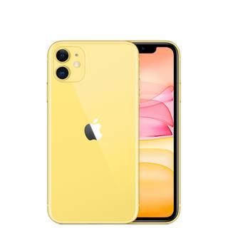 アイフォーン(iPhone)の【新品未開封】Apple iPhone 11 64GB SIMフリーイエロー(スマートフォン本体)