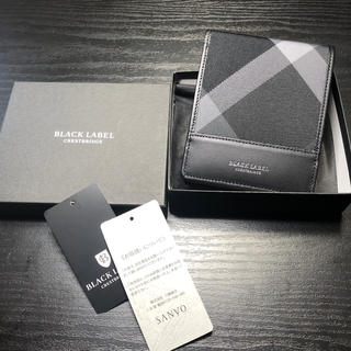 ブラックレーベルクレストブリッジ(BLACK LABEL CRESTBRIDGE)の専用出品 新品 ブラックレーベル  折財布 (折り財布)