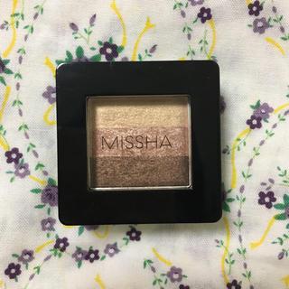 ミシャ(MISSHA)のmissha ミシャ トリプルシャドウ  1号 ピンクブラウニー(アイシャドウ)
