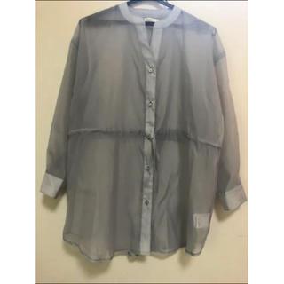 チャオパニック(Ciaopanic)のチャオパニック シアーシャツ(シャツ/ブラウス(長袖/七分))