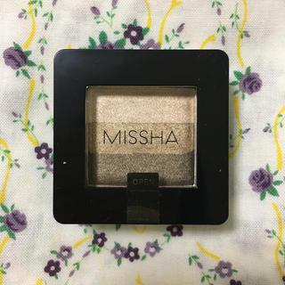 ミシャ(MISSHA)のmissha ミシャ トリプルシャドウ アイシャドウ 4号 チョコレートブラウン(アイシャドウ)