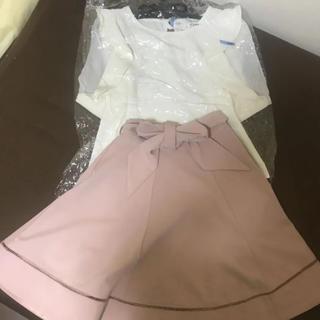 ティティアンドコー(titty&co)のティティアンドコー ブラウス&スカート(シャツ/ブラウス(半袖/袖なし))