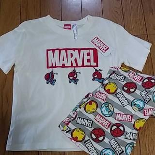 マーベル(MARVEL)のMARVEL  スパイダーマン 半袖 パジャマ 120(パジャマ)
