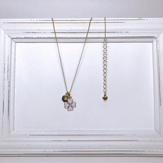 ボウダンショウネンダン(防弾少年団(BTS))のclover💜 necklace 《 JM💛 》(ネックレス)
