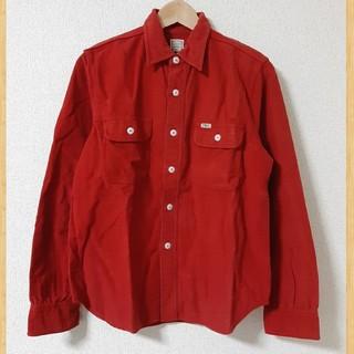 クーティー(COOTIE)の定価16280円 cootie 長袖コットンシャツ スエード調 フランネル S(シャツ)