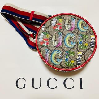 Gucci - ヒグチユウコ GUCCI コラボ ベルトバッグ ラウンド型